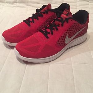 Nike Red Revolution Running Shoes - NWT